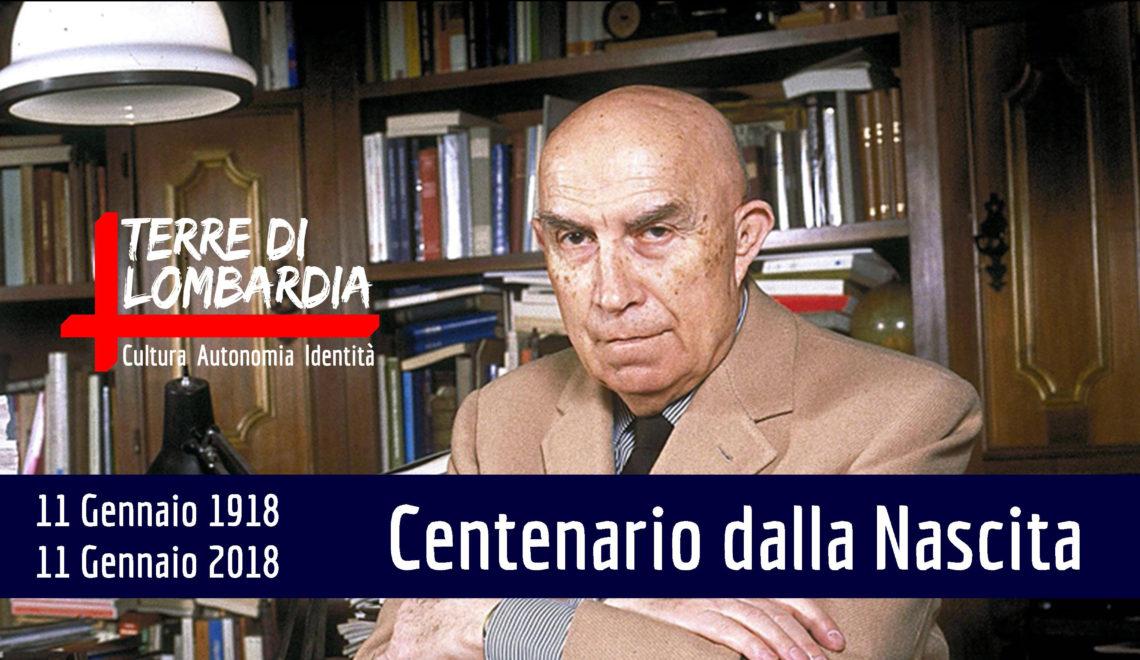 GIANFRANCO MIGLIO // CENTENARIO DALLA NASCITA