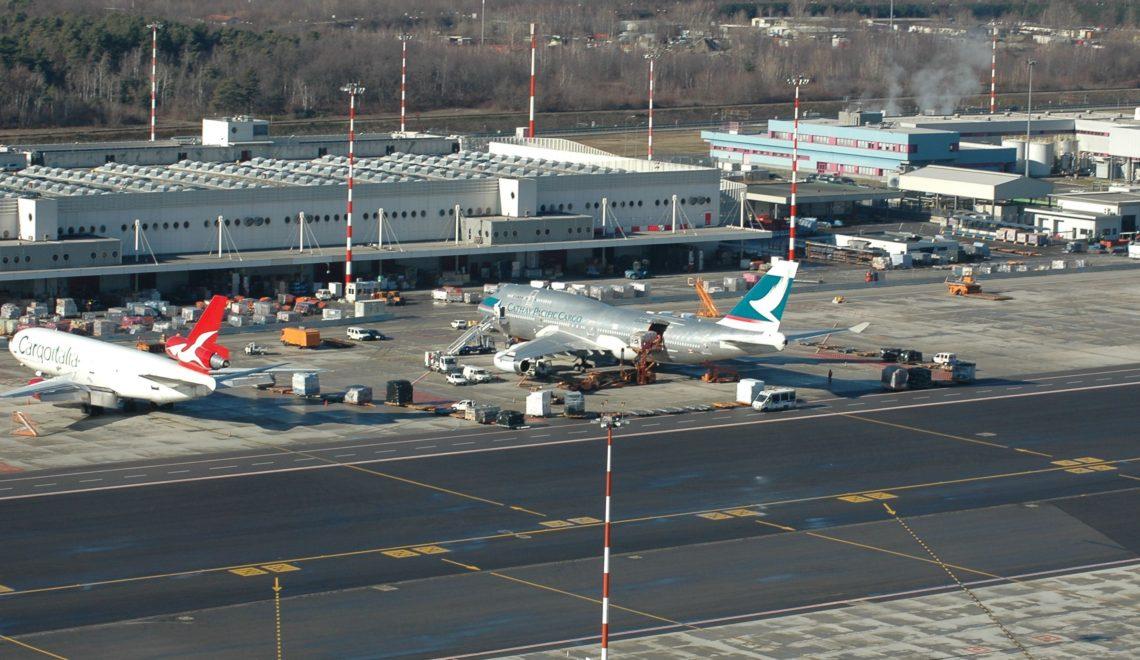 Aeroporti: Milano Malpensa prima in Italia per il trasporto cargo