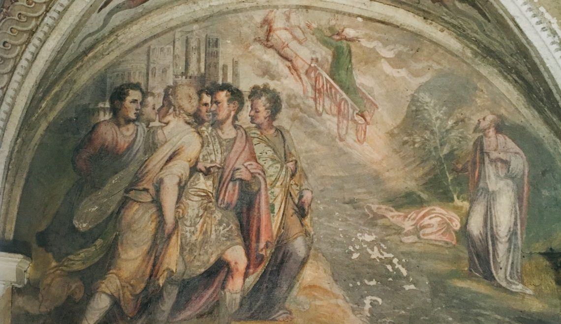 Bassa Bresciana. Palazzo Maggi, tra sacro e profano.