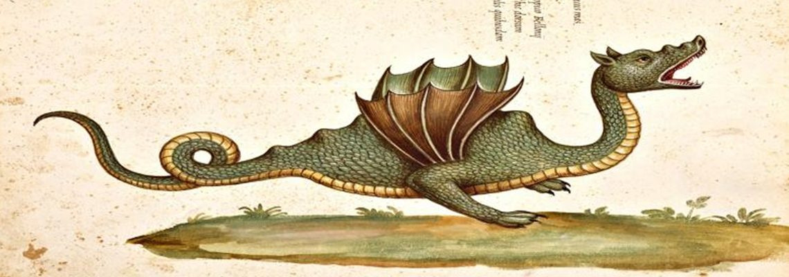 """Il drago Tarantasio """"riappare"""" a Castelgerundo"""